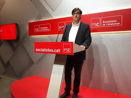 El Govern català es reuneix aquest dimarts amb el PSC per sondejar la seva disposició a donar suport als comptes