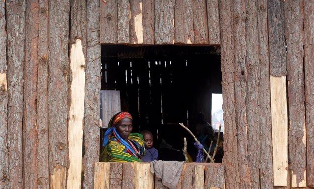 Refugiados congoleños en Uganda