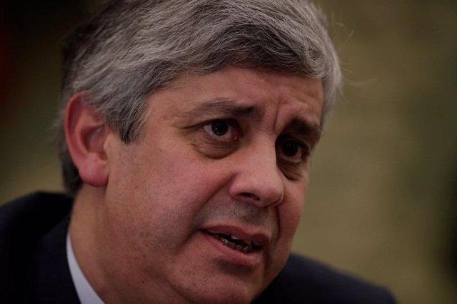 Mario Centeno, presidente del eurogrupo