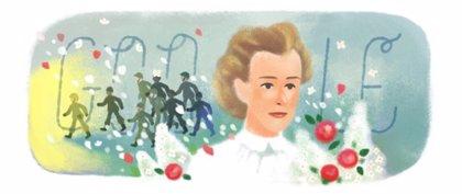 Google celebra el nacimiento de Edit Cavell, la enfermera que arriesgó su vida por ayudar a cientos de soldados