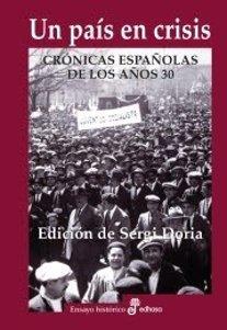 Llibre 'Un país en crisis' de S.Doria