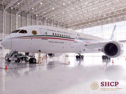El lujoso interior del avión presidencial de México que AMLO ha puesto a la venta