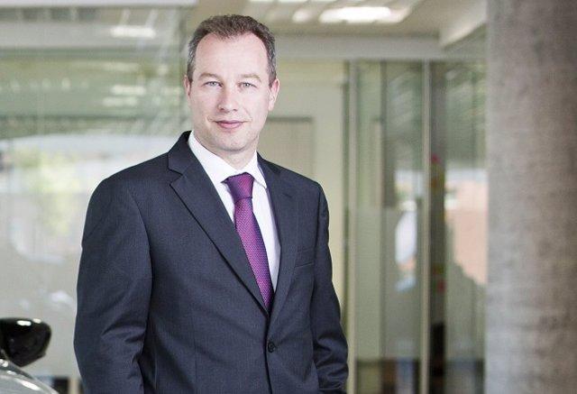 El director general de Citroën para España y Portugal, Pablo Puey