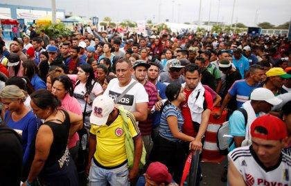 Bruselas anuncia 20 millones de ayuda humanitaria para los venezolanos que abandonan el país
