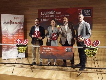 Logroño acogerá del 7 al 14 de abril el World Padel Tour 2019