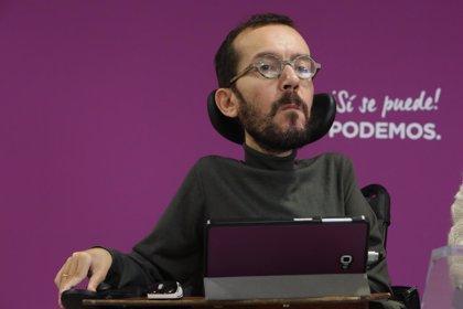 """Podemos critica que el Rey Juan Carlos """"vaya a jugar un papel central"""" en los actos del 6 de diciembre"""