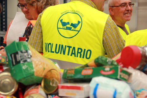 Voluntario  Recogida de Alimentos