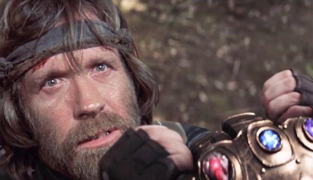 Chuck Norris contra Thanos en un tráiler fan