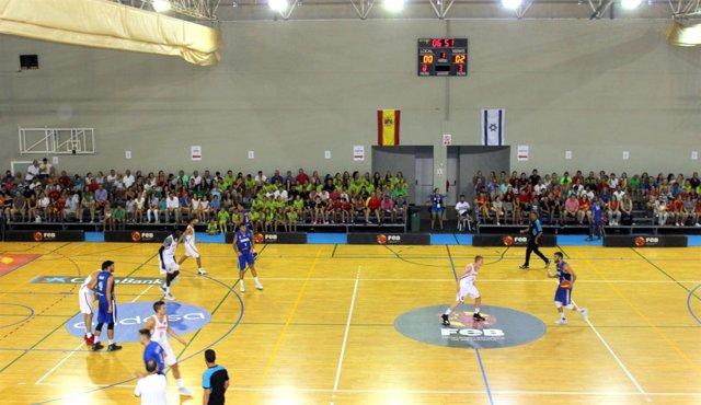 Cancha Deportiva Deportes Estepona Ocio Juego Eficiencia Pabellón