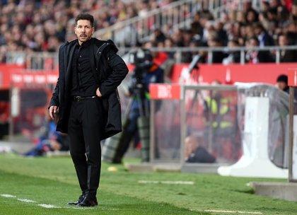 """Simeone lamenta que """"jugando en el Atlético es mucho más difícil"""" ganar el Balón de Oro"""