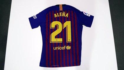 Aleñá, inscrito con el primer equipo del Barça en lugar de Rafinha