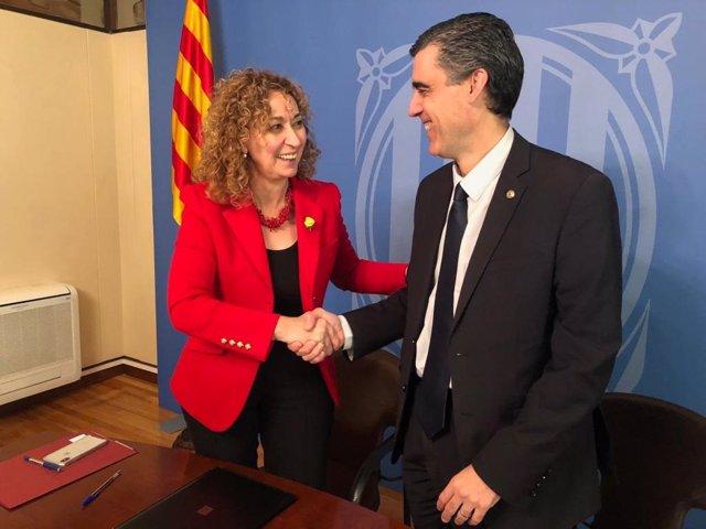 Ester Capella i Julio J. Naveira