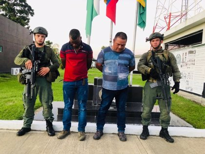 Capturan a 'Palillo', hermano del jefe del Clan del Golfo en Colombia