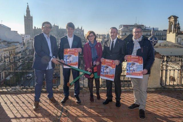 David Guevara anuncia la concentración del equipo femenino de hockey en Sevilla