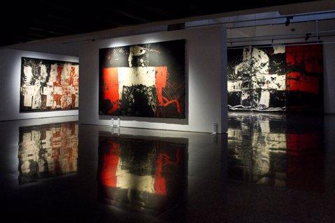 FOTO: L'exposició d'Agustí Puig al Centre Cultural Terrassa
