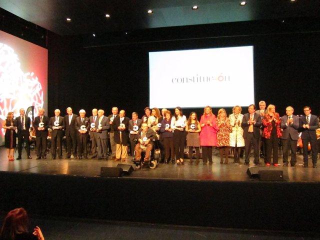 Conmemoración de la Constitución en Badajoz