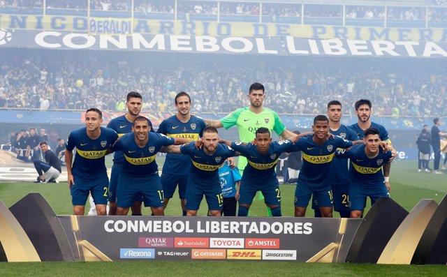 Once inicial de Boca Juniors en la Copa Libertadores