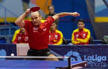 La selección masculina de tenis de mesa se clasifica para Europeo y la femenina necesitará una repesca