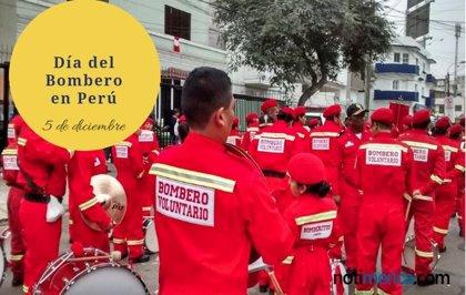 ¿Por qué el 5 de diciembre es el Día Nacional del Bombero Voluntario en Perú?