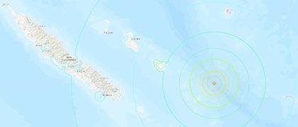 Un terratrèmol de magnitud 7,6 a la costa est de Nova Caledònia provoca una alerta de tsunami