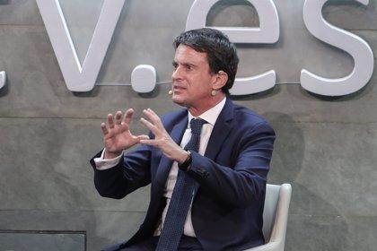 """Valls rechaza un pacto de Cs con Vox en Andalucía: """"No puede haber ningún compromiso con la extrema derecha"""""""