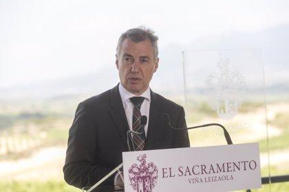 """Urkullu se """"empeñará"""" en evitar """"un efecto contagio"""" en Euskadi de la """"incertidumbre"""" y la """"crispación política"""""""