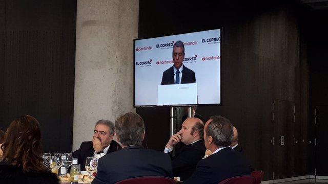 El lehendakari, Iñigo Urkullu, en el Foro Expectativas Económicas