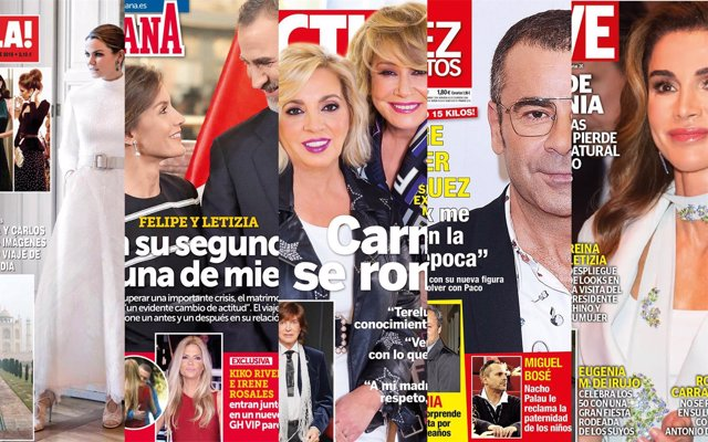 Quiosco de revistas de los miércoles