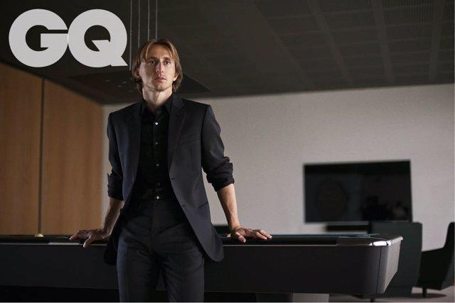 Luka Modric, portada de la revista GQ de enero 2019