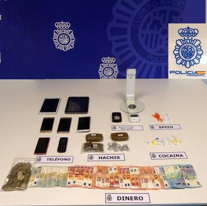 """Detenido en Errenteria por traficar """"incesantemente"""" con drogas en la localidad"""