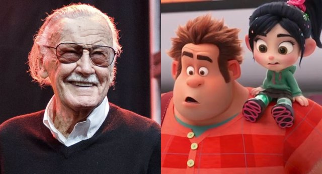 Stan Lee y Ralph Rompe Internet