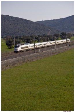 Un tren de Alta Velocidad