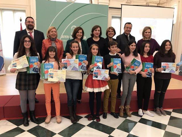 Premiados del certamen 'Solidaridad en letras'