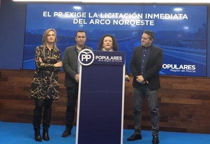 """PP exige al PSOE que """"dé la cara"""" y licite el Arco Noroeste"""