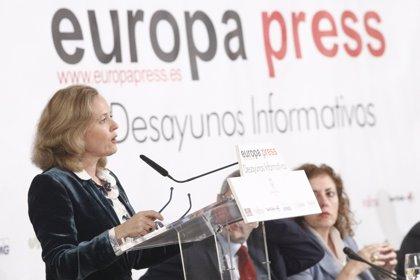 """Calviño diu que caldrà """"reflexionar"""" sobre la pensió de viduïtat en la reforma del sistema en el seu conjunt"""