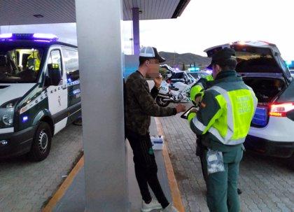 Detenidas 14 personas por conducir bebidas y 41 denunciados por hacerlo bajo consumo de drogas