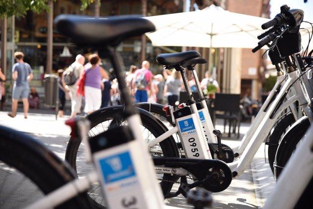 Bicicletes elèctriques (arxiu)