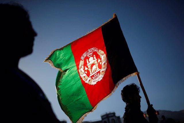 Bandera de Afganistán