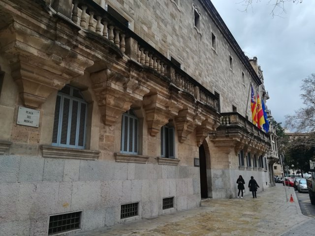 La sede del TSJIB y la Audiencia Provincial