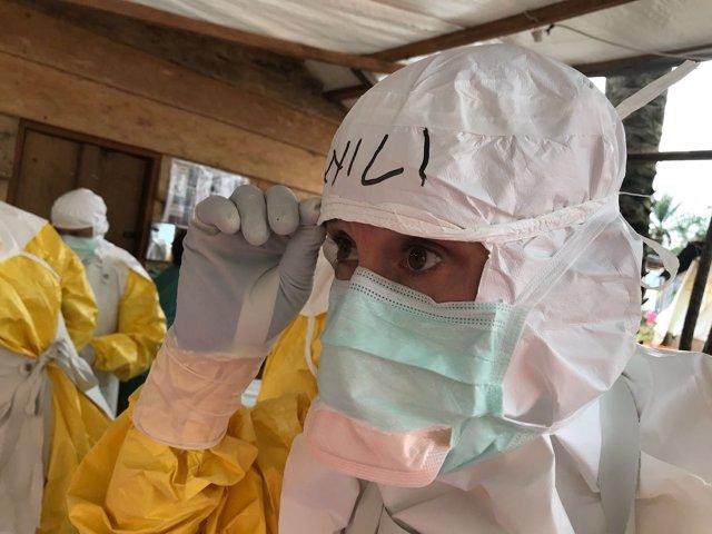 Campaña contra el ébola en República Democrática del Congo