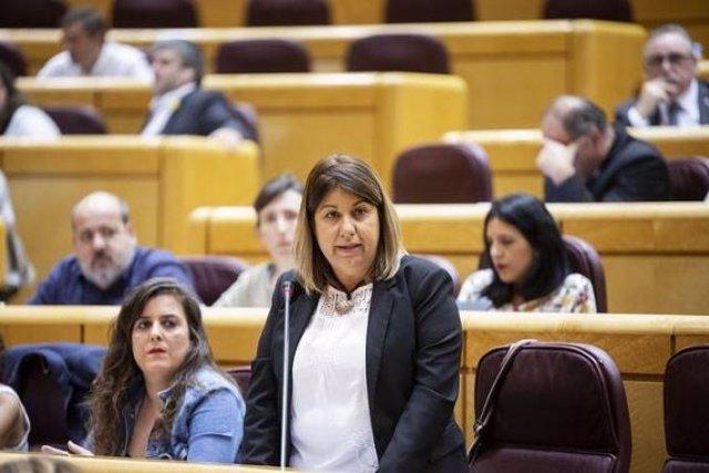 Kontxi Palencia, senadora por Unidos Podemos