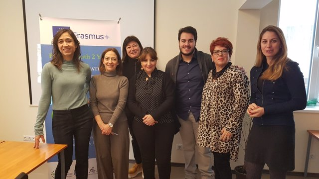 Reunión del proyecto europeo 'Youth2Youth'.