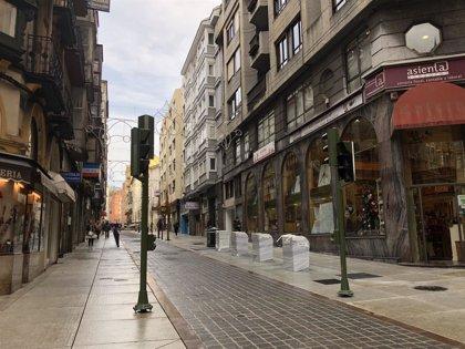Abre a los peatones la calle Cervantes tras siete meses de obras