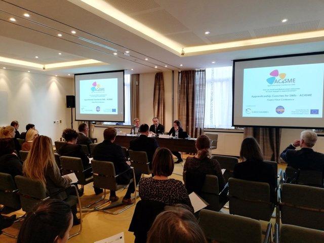 La conferència final del projecte AC4SME, celebrada a Brussel·les