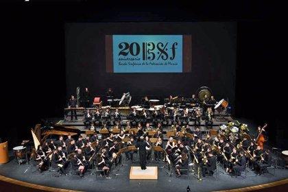 El Auditorio acoge este jueves un concierto solidario de la Banda Sinfónica de la Federación de Bandas de la Región