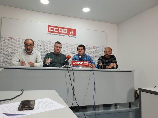 Miembros del comité de empresa