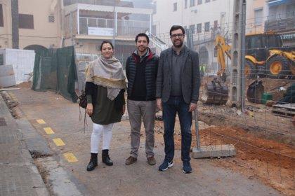 Las obras de la calle Bellamar de Palma con un presupuesto de 234.535 euros se prevé que acaben en abril