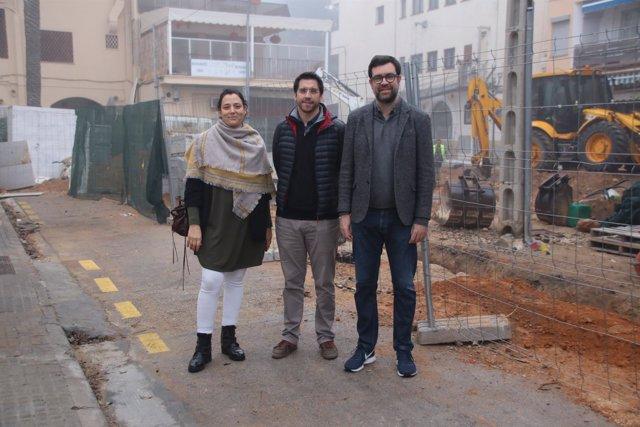 Alcalde de Palma, obras de remodelación calle Bellamar