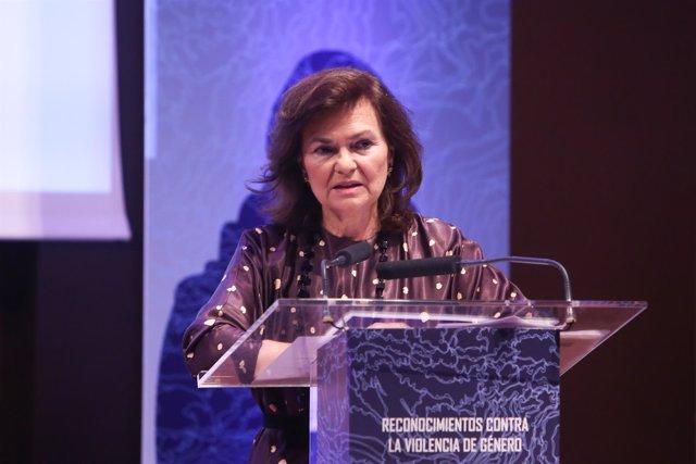 Entrega de reconocimientos contra la violencia de género