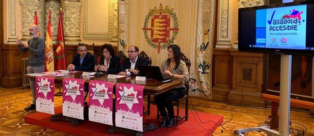 Presentación del proyecto 'Valladolid accesible'. 5-12-18